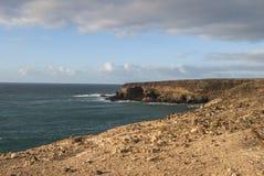 Fuerteventura - Caleta Negra in the north of Ajuy Royalty Free Stock Image
