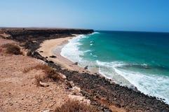 fuerteventura, Canarische Eilanden, Spanje Royalty-vrije Stock Fotografie
