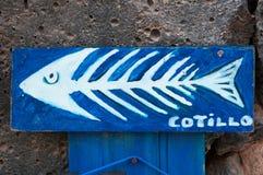 fuerteventura, Canarische Eilanden, Spanje Royalty-vrije Stock Foto's