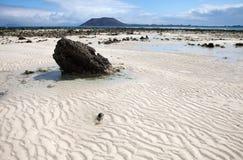 Fuerteventura, Canary Islands,Flag Beach Stock Photography
