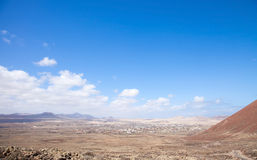 Fuerteventura, Canary Islands, path from Lajares to Calderon Hon Stock Images