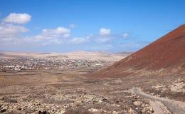 Fuerteventura, Canary Islands, path from Lajares to Calderon Hon Stock Photos