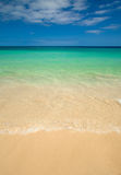 Fuerteventura, clean beach of Jandia Stock Image