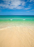 Fuerteventura, clean beach of Jandia Royalty Free Stock Photo