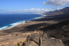 Fuerteventura coast Royalty Free Stock Image