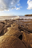 Fuerteventura coast at La Pared Royalty Free Stock Image