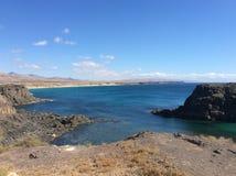 Fuerteventura coast. North coast of Fuerteventura, Canary Islans Royalty Free Stock Photos