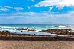 Fuerteventura coast Stock Photography