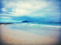 Fuerteventura. Corralejo beach, Fuerteventura Royalty Free Stock Image