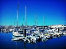 Fuerteventura. Corralejo Port, Fuerteventura Royalty Free Stock Photography