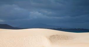 Fuerteventura, Corralejo sand dunes Stock Image