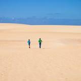 Fuerteventura; Corralejo sand dunes Stock Image