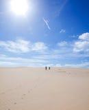 Fuerteventura; Corralejo sand dunes Royalty Free Stock Photography