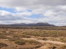 Fuerteventura, de Canarische Eilanden, Spanje Stock Foto