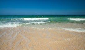 Fuerteventura do norte, playas de Grandes Fotografia de Stock