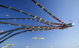 Fuerteventura-Drachen-Festival Lizenzfreie Stockfotos