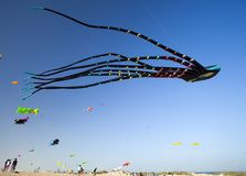 Fuerteventura-Drachen-Festival Stockfotografie