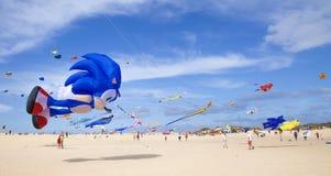 Fuerteventura-Drachen-Festival Stockbilder