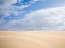 Fuerteventura, dunes of Corralejo Royalty Free Stock Photos
