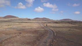 Fuerteventura España: 2018-10-27, XX competitio 2018 de la bici de montaña de Fudenas de la edición metrajes