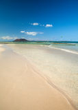 Fuerteventura, Flag Beach Stock Photography