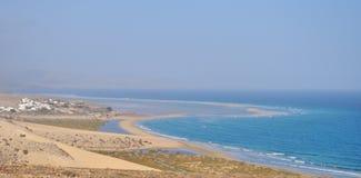 Fuerteventura Gorreones Sotavento beach 1. Beach in Gorreones Sotavento south of the island Fuerteventura (Canary Islands Stock Images