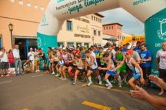 Fuerteventura half-marathon Royalty Free Stock Image