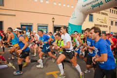 Fuerteventura half-marathon Royalty Free Stock Photo