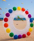 FUERTEVENTURA, HISZPANIA, LISTOPAD 08 2014, kania festiwal Obrazy Royalty Free