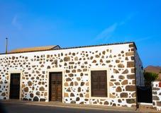 Fuerteventura house in Lajares Canary Islands Stock Photos