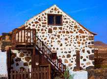 Fuerteventura house in Lajares Canary Islands Stock Photo