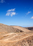 Fuerteventura intérieur, Îles Canaries photo libre de droits