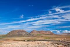 Fuerteventura interna Fotografia Stock