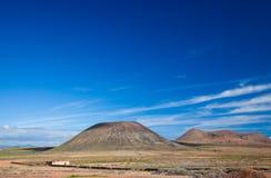 Fuerteventura interna Fotografia Stock Libera da Diritti