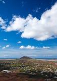 Fuerteventura interna Immagini Stock