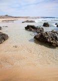 Fuerteventura, islas Canarias, Playa del Castillo Imagen de archivo libre de regalías