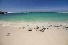 Fuerteventura, isole Canarie, spiaggia del Concha della La di Playa al EL Cotil Immagine Stock