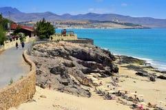 Fuerteventura kanariefågelöar, Spanien Royaltyfri Bild