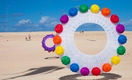 Fuerteventura kite festival Royalty Free Stock Image