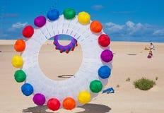 Fuerteventura kite festival Stock Images