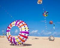 Fuerteventura kite festival Royalty Free Stock Photography