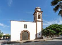 Fuerteventura - kyrka i Antigua Royaltyfri Bild