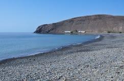 Fuerteventura La Lajita beach 2. Beach La lajita south of the island Fuerteventura (Canary Islands Royalty Free Stock Images