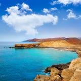Fuerteventura La Pared beach at Canary Islands Stock Photo