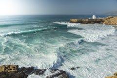 Fuerteventura-La schnitt Strand in Kanarischen Inseln Pajara von Spanien lizenzfreie stockfotografie