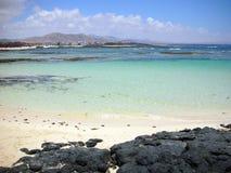 Fuerteventura, lagoa do EL Cotillo Imagem de Stock