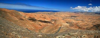 Fuerteventura Landscape Royalty Free Stock Photography