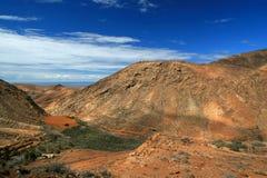 Fuerteventura Landscape Royalty Free Stock Images
