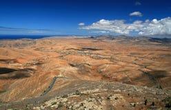 Fuerteventura Landscape Stock Photo