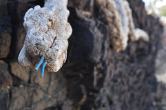 Fuerteventura Las Playitas 5. Art with 'trash' found at Las Playitas at Fuerteventura Stock Photos